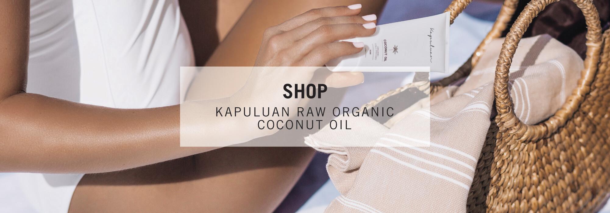 shop raw organic coconut oil for skin