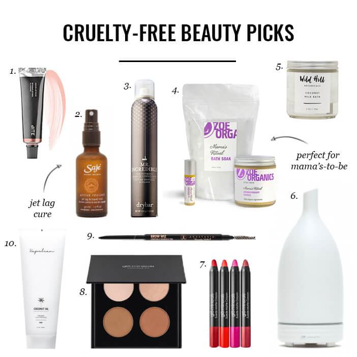 Jillian Haris' cruelty-free beauty products