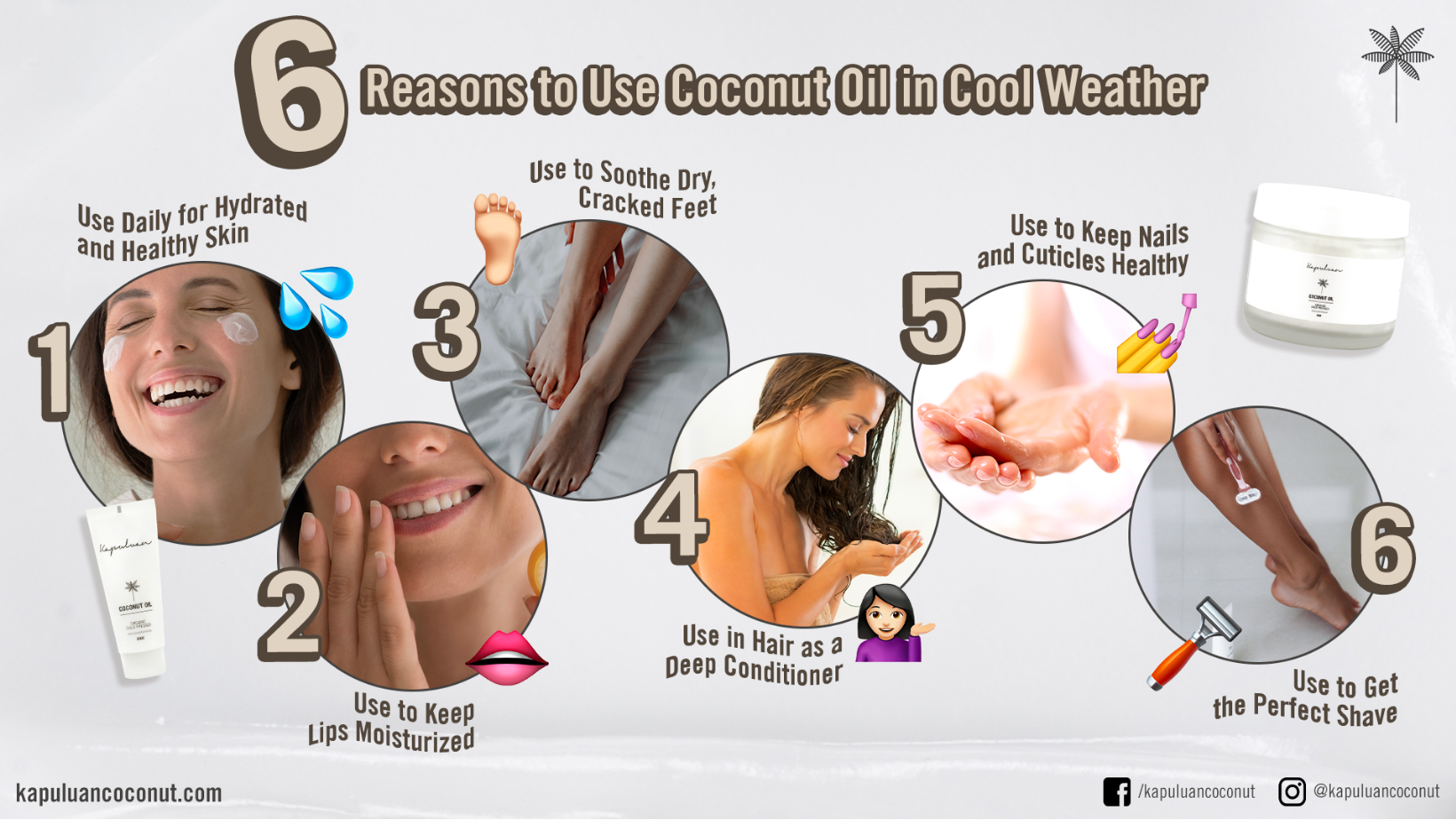 coconut oil hot or cold
