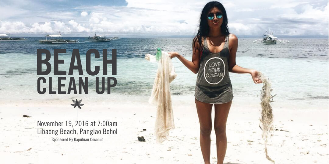 Bohol Beach Clean Up – November 19, 2016