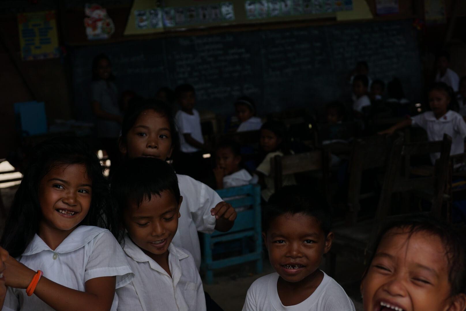 Children of Lingap Center at School
