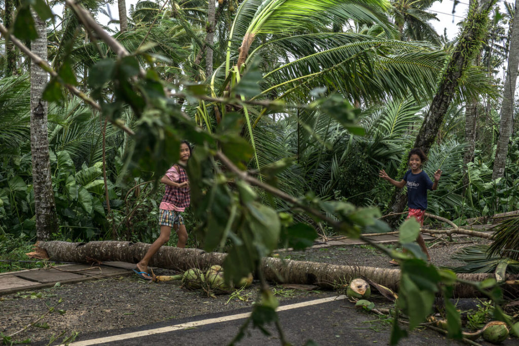 The children of Tacloban, resilient as ever after typhoon ruby.