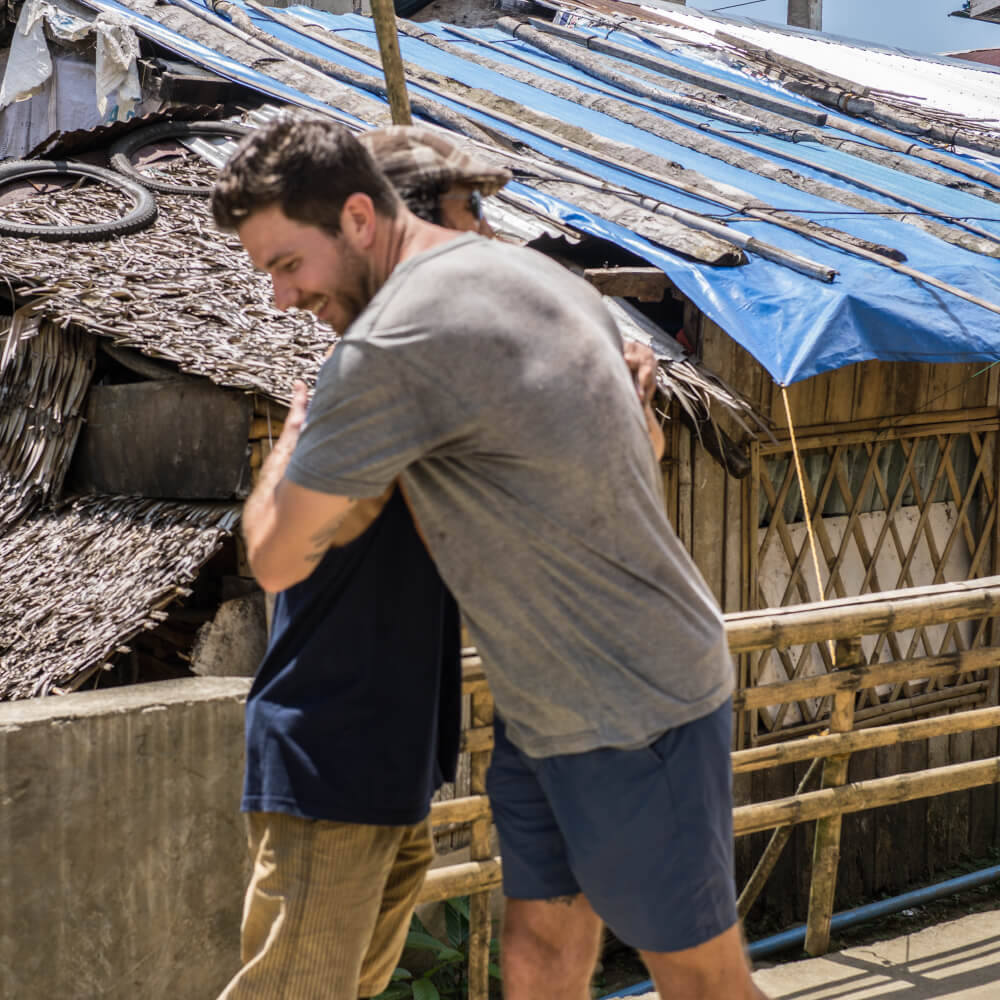 Will Lauder helping the victims of Typhoon Hagupit