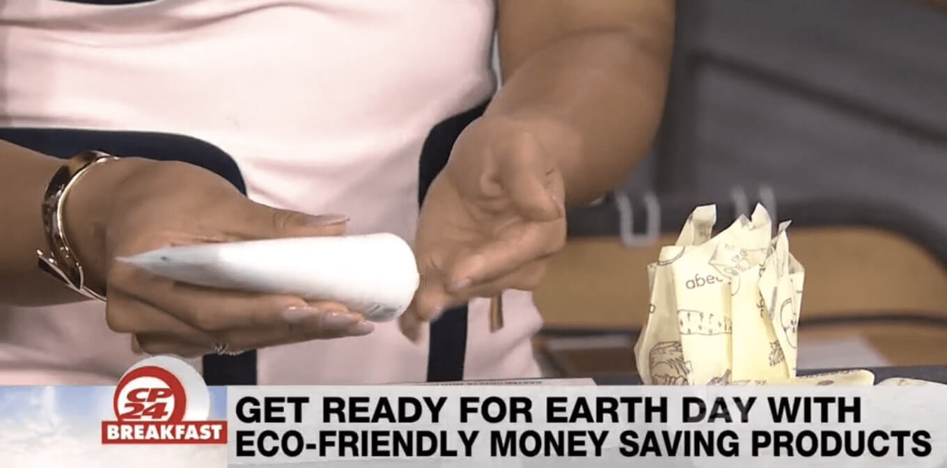 Kapuluan Featured on CP24 Toronto Morning Show for eco-friendly money saving products.