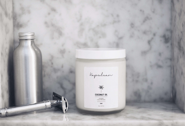 Kapuluan Coconut Oil is an excellent shaving cream and moisturizer.