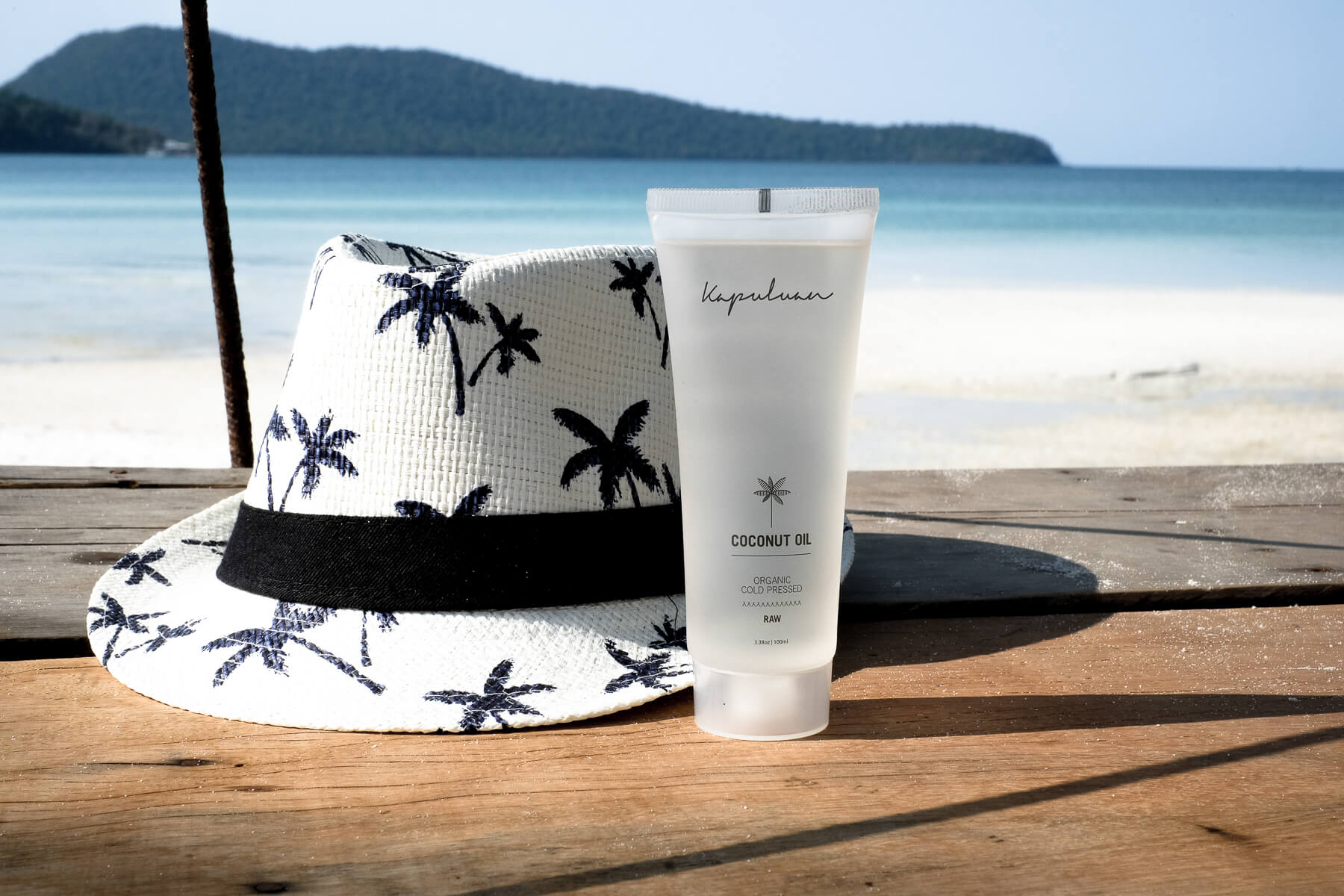 Kapuluan Coconut Oil Perfect for Travel