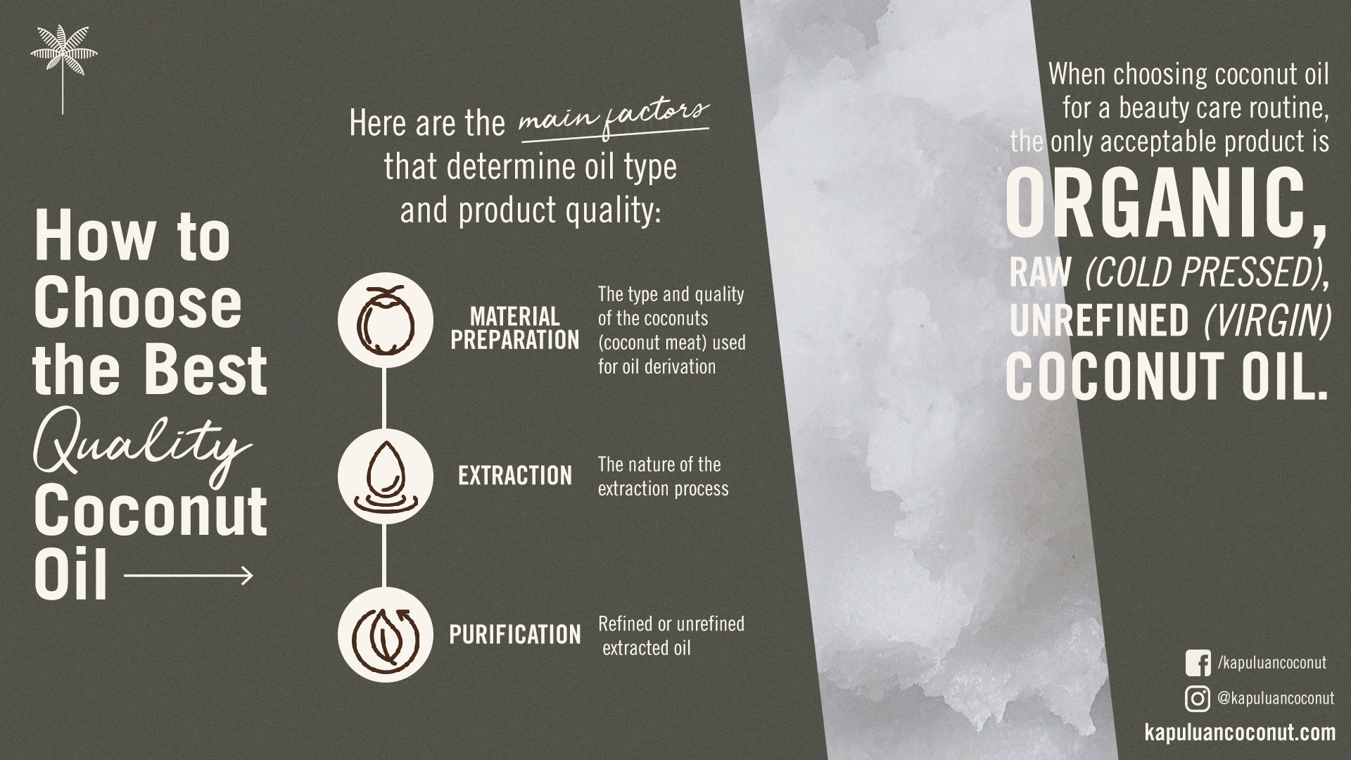 how to choose the best quality coconut oil